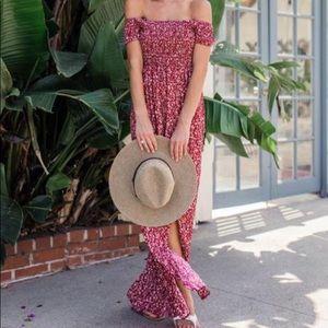 Vici Floral Off The Shoulder Dress